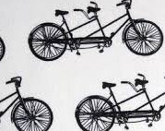 XXS-L Bicycle Built for Two Bandana- .