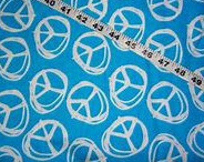 XXS-XXL Peace Sign on Blue Bandana