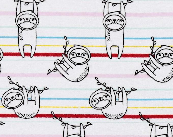 XXS-L Sloth with Stripes Bandana