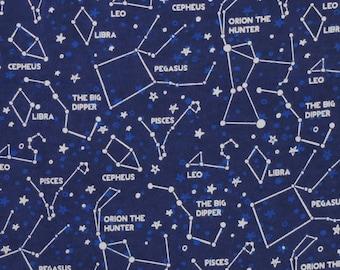 XXS-XL Zodiac Night Sky Bandana Bib