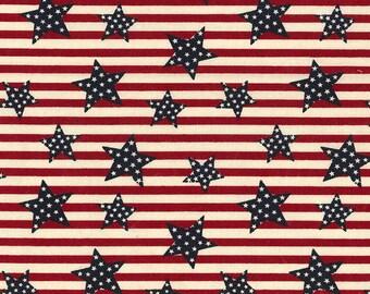 XXS-XXL Patriotic Stars on Stripes Bandana Bib
