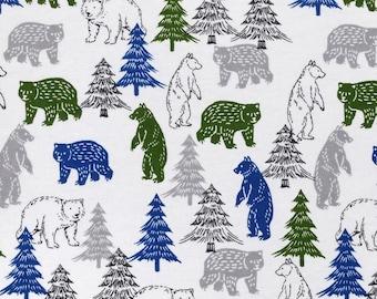 XXS-XS Green Bears and Blue Bears and Gray Bears, Oh My Bandana