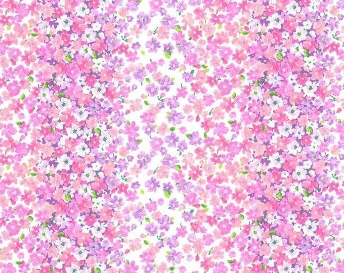 XXS-XL Tiny Pink Flowers Bandana