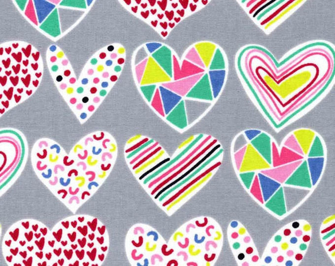 XXS-XXL Prism Hearts Bandana Bib