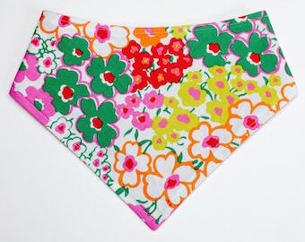 XXS-XXL Bright Flowers Bandana