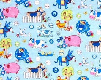 XXS-XXL Blue Funny Farm Bandana
