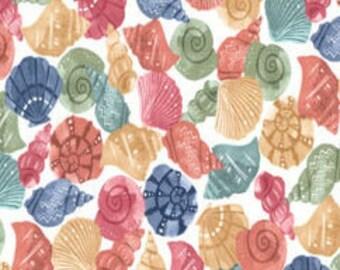 XXS-XXL Watercolor Seashells Bandana