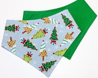 XXS-XL Cookie Christmas Tree Bandana