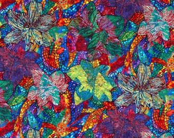XXS-XXL Mosaic Amaryllis Bandana Bib