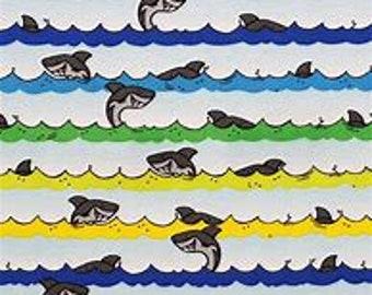 XXS-XXL Rainbow Shark Bandana Bib
