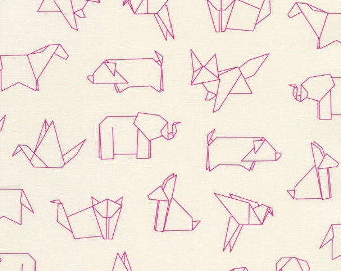 XXS-XXL Origami Animals Bandana Bib