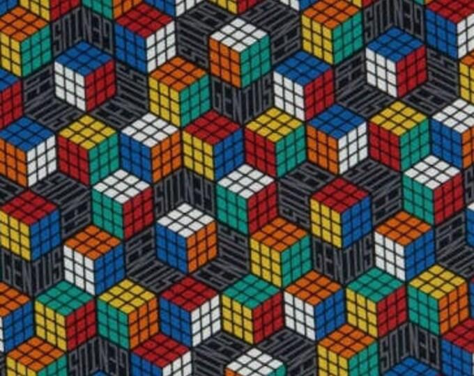 XXS-XXL I Love Rubik's Cube Genius Bandana Bib