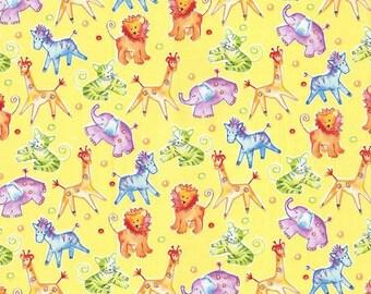 XXS-XXL Drawn Safari Animal Bandana Bib
