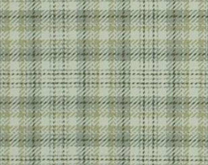 XXS-XXL Luxe Glen Pewter and Mint Green Frayed Bandana
