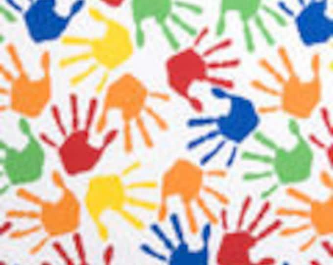 XXS-XXL Colorful Hand Prints Bandana