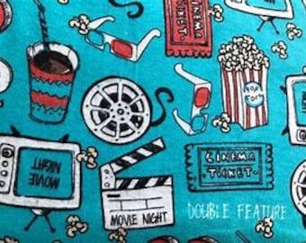 MTO Adjustable, Snapped Bandana Bib XXS-XXL Movie Popcorn