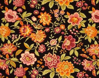 S-XXL The Rich Colors of Autumn Floral Bandana Bib
