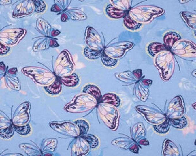 XXS-XXL Purple Butterfly Bandana