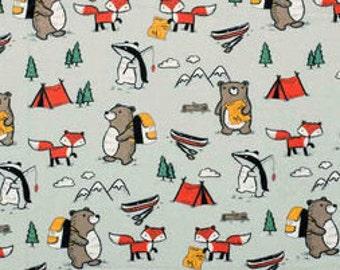 XXS-XXL Camping Forest Animals Bandana Bib