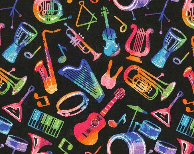 XXS-XXL Glittery Musical Instruments Bandana .