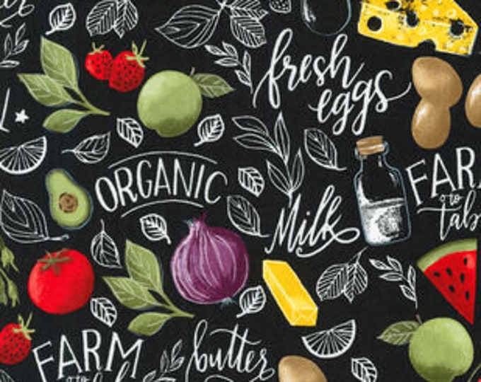 XXS-XXL Organic Fruit and Veggies and Dairy, Oh My! Bandana