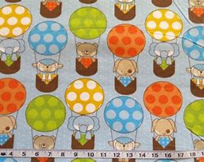 S-XXL Baby Animals in Hot Air Balloons Bandana