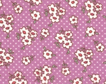XXS-XXL Purple Ditsy Flowers Bandana