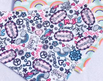 XXS-XXL Love & Rainbows Bandana