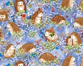 XXS-L Hedgehog Meadow Bandana Bib