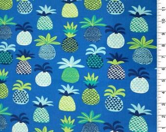 XXS-XXL Blue Pineapples Bandana