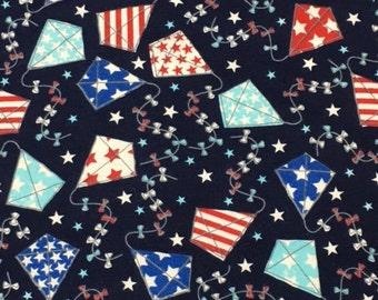 MTO Adjustable, Snapped Bandana Bib XXS-XXL Stars and Stripes Americana Kites