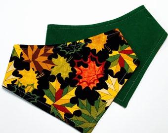 XXS-XXL Patterned Fall Colors Bandana