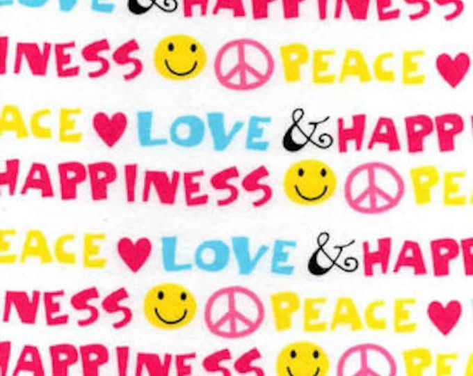 XXS-XXL Peace Love Happiness Bandana