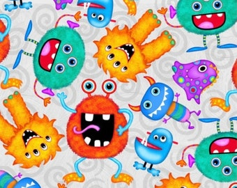 XXS-XXL Happy, Funny Monster Party Bandana Bib