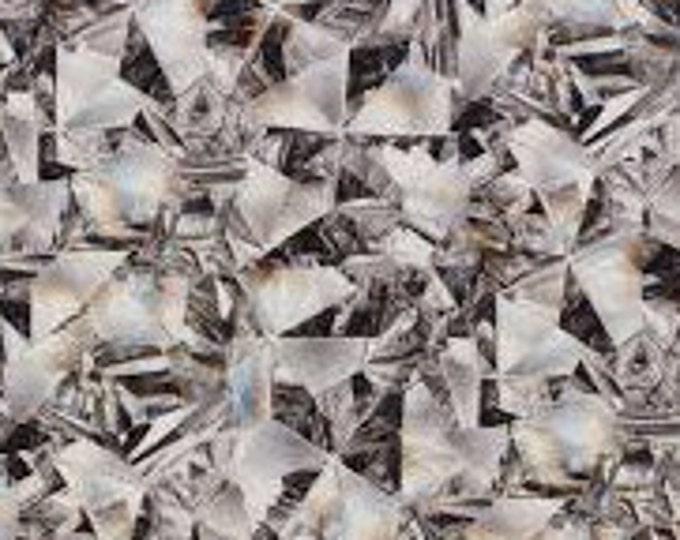 XXS-XXL Silver Kaleidoscope Prism Bandana Bib