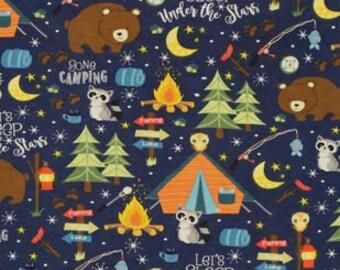 XXS-XXL Camping Under the Stars Bandana Bib