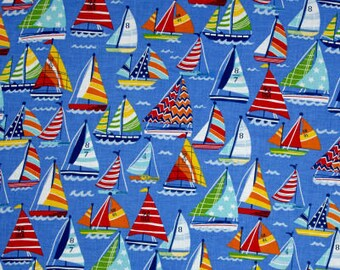 XXS-XXL Colorful Sailboats Bandana