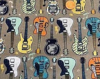 XXS-XXL Guitars in Every Color Bandana Bib