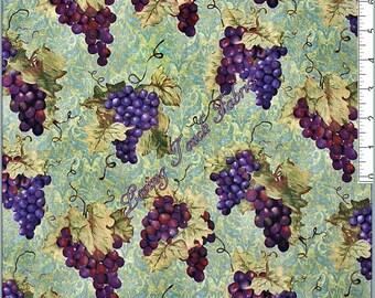 XXS-XXL Wine Grapes Bandana Bib