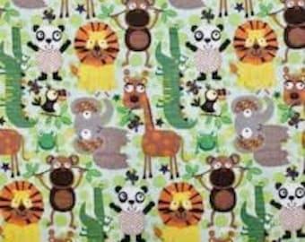XXS-XXL Jungle Animal Bandana Bib