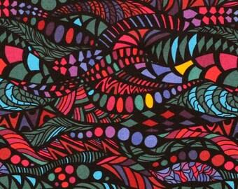 XXS-XXL Jewel Tone Zentangle Bandana Bib