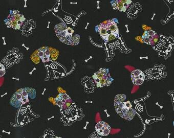 XXS-XS Sugar Skull Puppers Bandana
