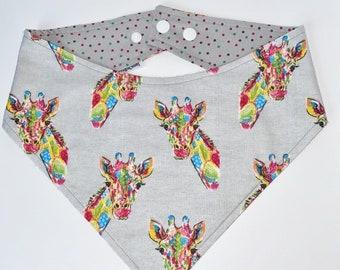 XXS-XXL Tie Dye Giraffe Bandana