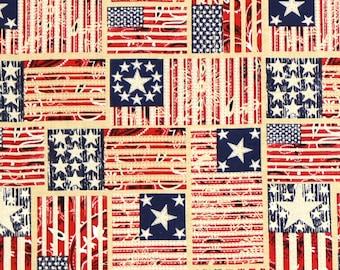 XXS-XXL Americana Flags Bandana Bib