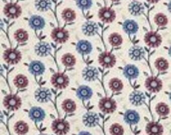 XXS-XXL Patriotic Flowers Bandana Bib