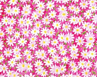 XXS-XL Packed Pink Daisy Bandana Bib