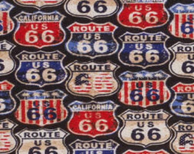 XXS-XXL Get Your Kicks on Route 66 Bandana Bib