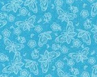 XXS-XXL Lacy Blue Butterfly Bandana