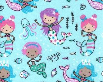 MTO Adjustable, Snapped Bandana Bib XXS-XXL Princess Mermaids