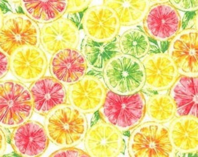 Bandana Bib XXS-XXL Summer Citrus Fruit